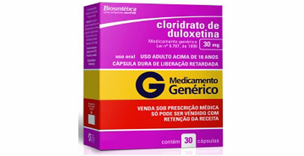 Cloridrato de Duloxetina