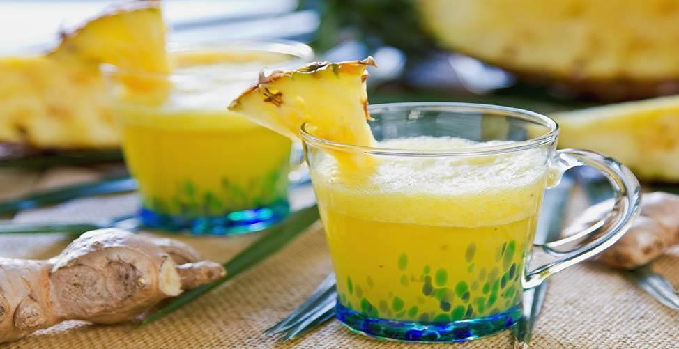 Remédio Caseiro Para Colesterol - Suco de Abacaxi